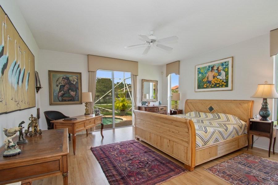 Real Estate Photography - 3741 E Lake Estates Drive, Davie, FL, 33328 - Master Bedroom