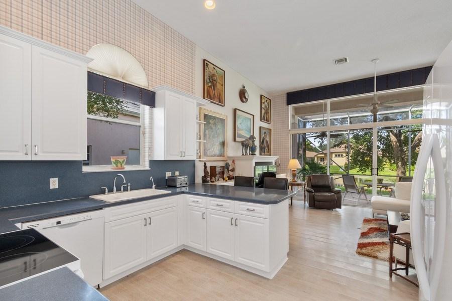 Real Estate Photography - 3741 E Lake Estates Drive, Davie, FL, 33328 - Kitchen