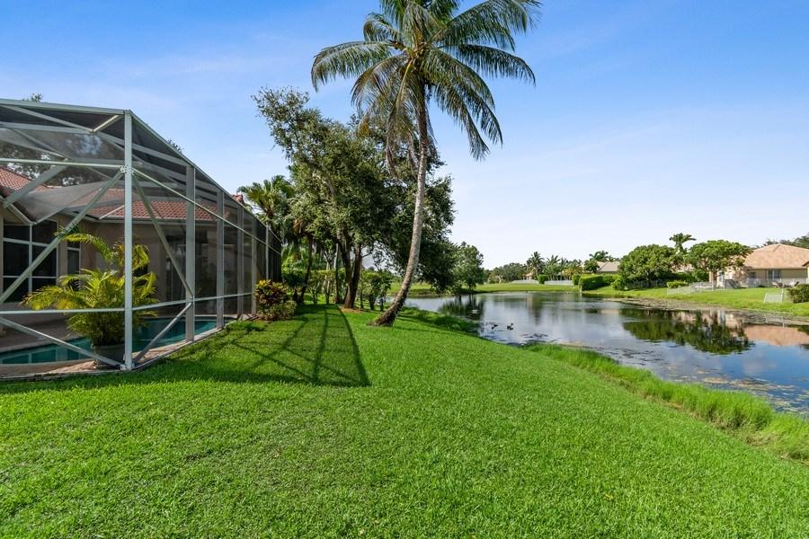 Real Estate Photography - 3741 E Lake Estates Drive, Davie, FL, 33328 - Back Yard