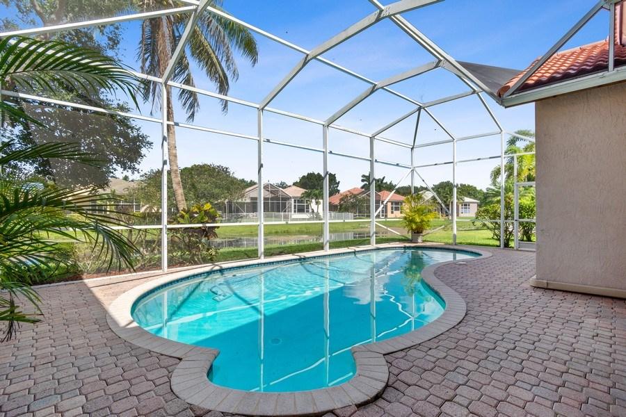 Real Estate Photography - 3741 E Lake Estates Drive, Davie, FL, 33328 - Pool
