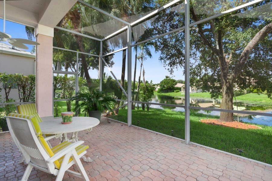 Real Estate Photography - 3741 E Lake Estates Drive, Davie, FL, 33328 - Patio
