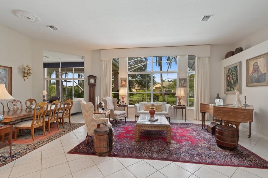 Real Estate Photography - 3741 E Lake Estates Drive, Davie, FL, 33328 - Living Room / Dining Room