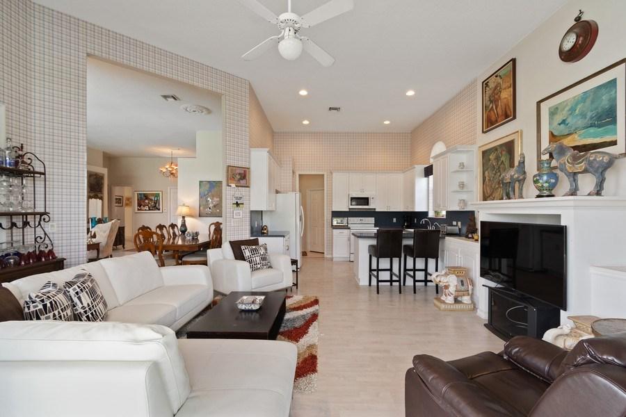 Real Estate Photography - 3741 E Lake Estates Drive, Davie, FL, 33328 - Family Room / Kitchen