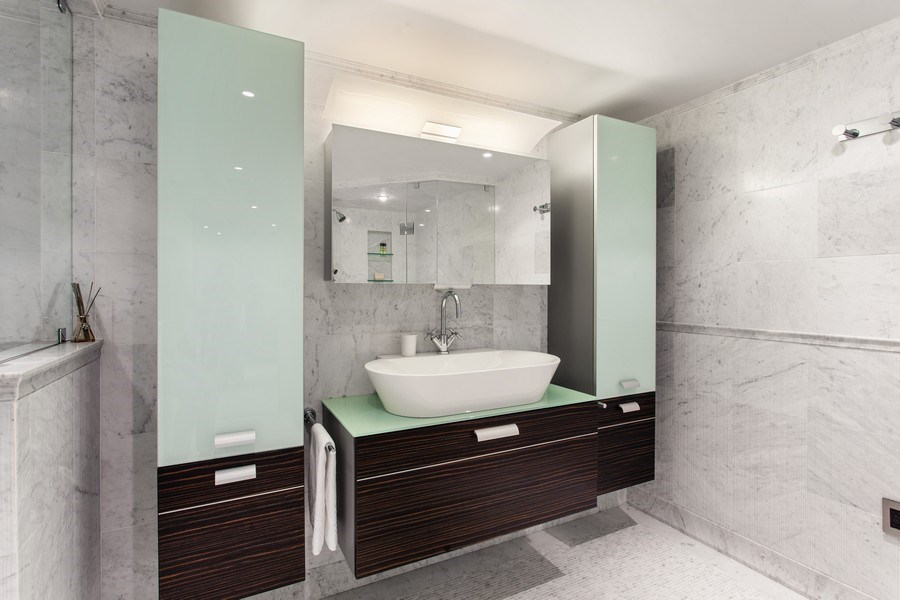 Real Estate Photography - 3 Grove Isle Dr. #C601, Miami, FL, 33133 - #33 Master Bathroom