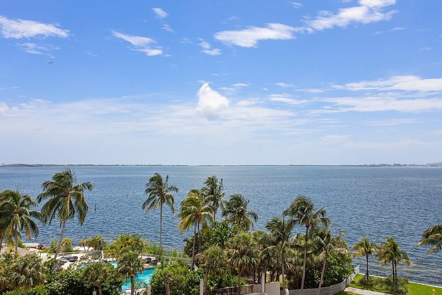 Real Estate Photography - 3 Grove Isle Dr. #C601, Miami, FL, 33133 - #43 Bay view