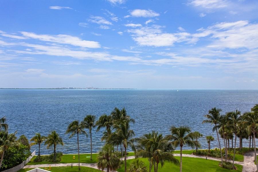 Real Estate Photography - 3 Grove Isle Dr. #C601, Miami, FL, 33133 - #44 Open Bay View