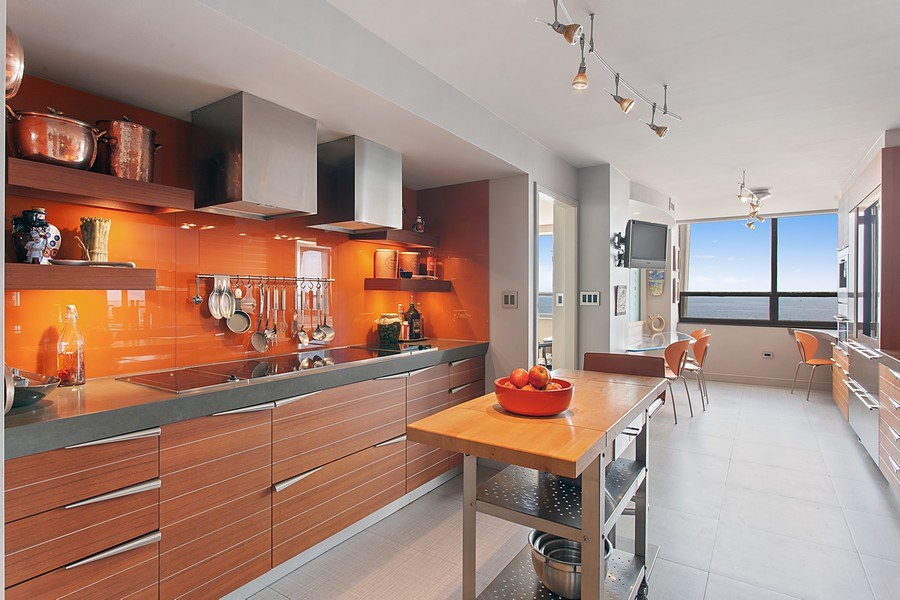 Real Estate Photography - 3 Grove Isle Dr. #C601, Miami, FL, 33133 - #8 Kitchen wide