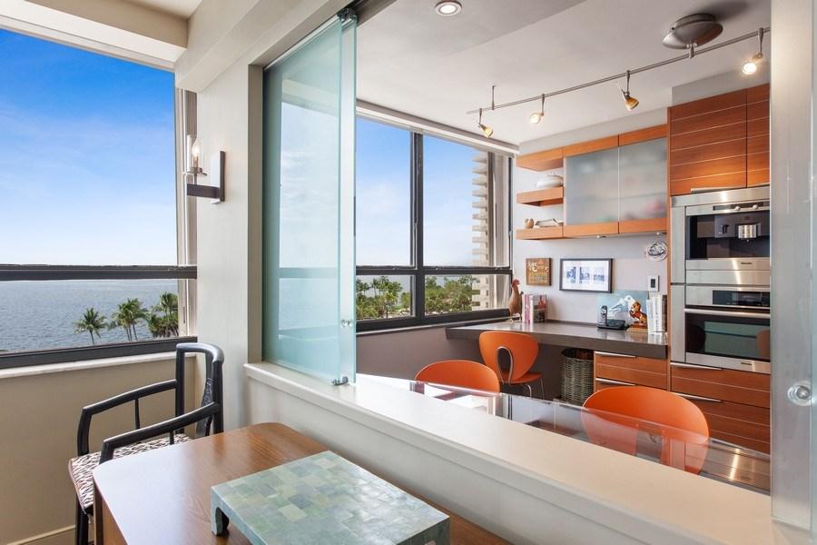 Real Estate Photography - 3 Grove Isle Dr. #C601, Miami, FL, 33133 - #17 Pass through