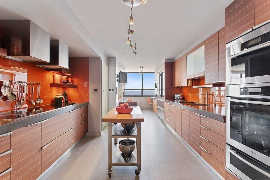 Real Estate Photography - 3 Grove Isle Dr. #C601, Miami, FL, 33133 - #7 Kitchen