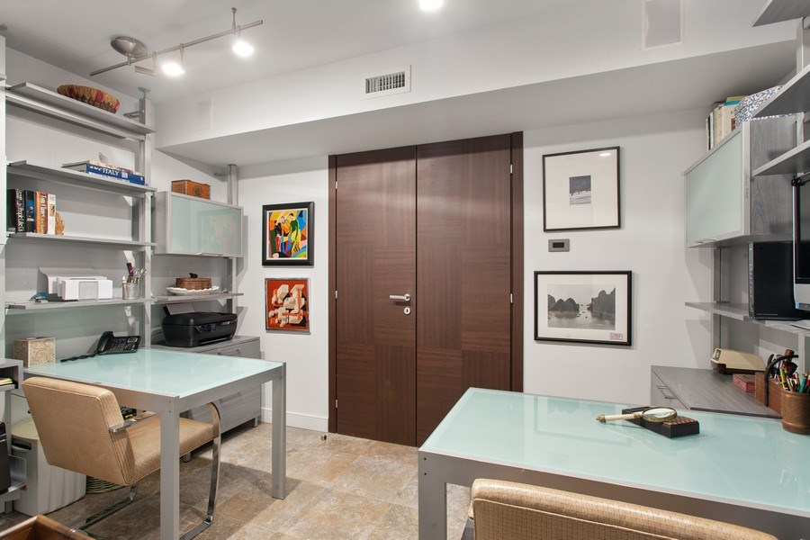 Real Estate Photography - 3 Grove Isle Dr. #C601, Miami, FL, 33133 - #20 Office