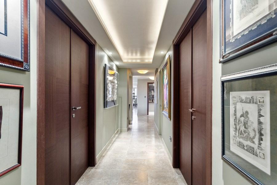 Real Estate Photography - 3 Grove Isle Dr. #C601, Miami, FL, 33133 - #26 Hallway Short