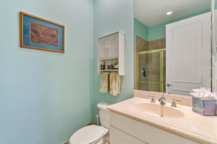 Real Estate Photography - 312 Porto Vecchio Way, Palm Beach Gardens, FL, 33418 - 3rd Bathroom