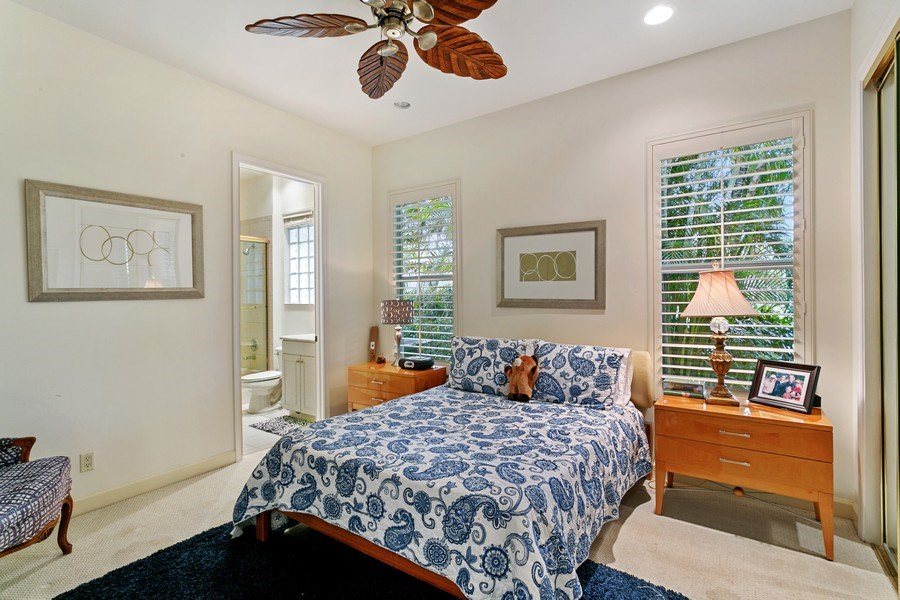 Real Estate Photography - 312 Porto Vecchio Way, Palm Beach Gardens, FL, 33418 - 2nd Bedroom