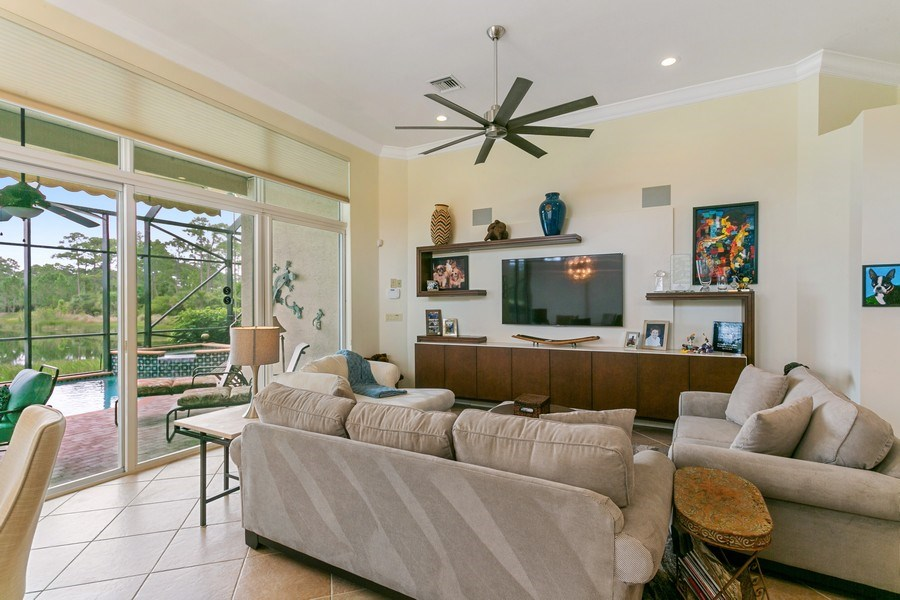 Real Estate Photography - 312 Porto Vecchio Way, Palm Beach Gardens, FL, 33418 - Family Room