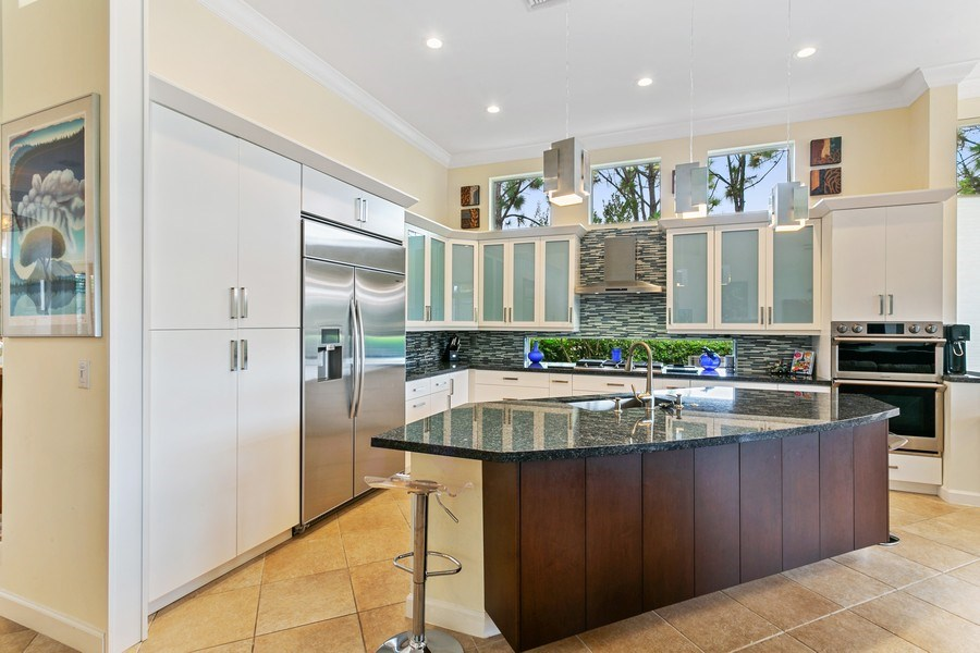 Real Estate Photography - 312 Porto Vecchio Way, Palm Beach Gardens, FL, 33418 - Kitchen