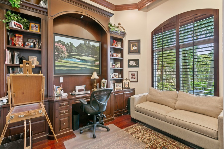 Real Estate Photography - 312 Porto Vecchio Way, Palm Beach Gardens, FL, 33418 - Office