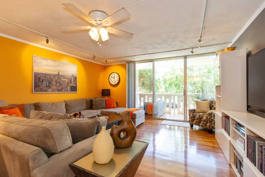 Real Estate Photography - 1301 River Reach Dr, Unit 211, Fort Lauderdale, FL, 33315 - Living Room