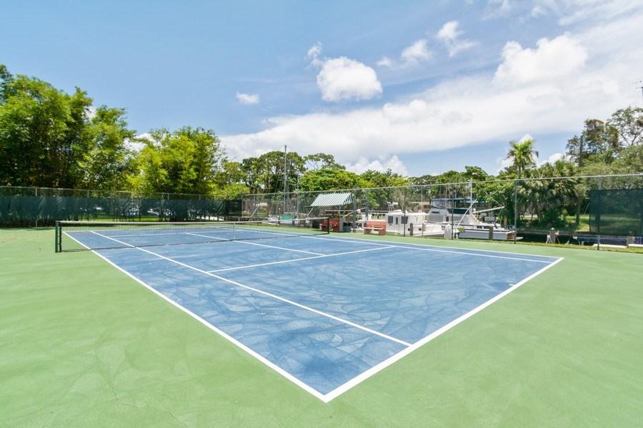 Real Estate Photography - 1301 River Reach Dr, Unit 211, Fort Lauderdale, FL, 33315 - Tennis Court