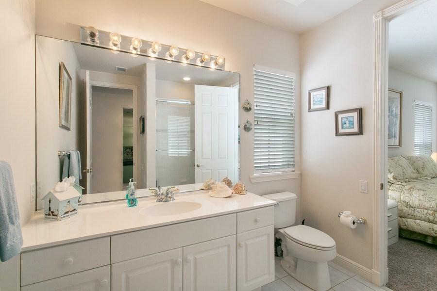Real Estate Photography - 735 Charlestown Circle, Palm Beach Gardens, FL, 33410 - 3rd Bathroom