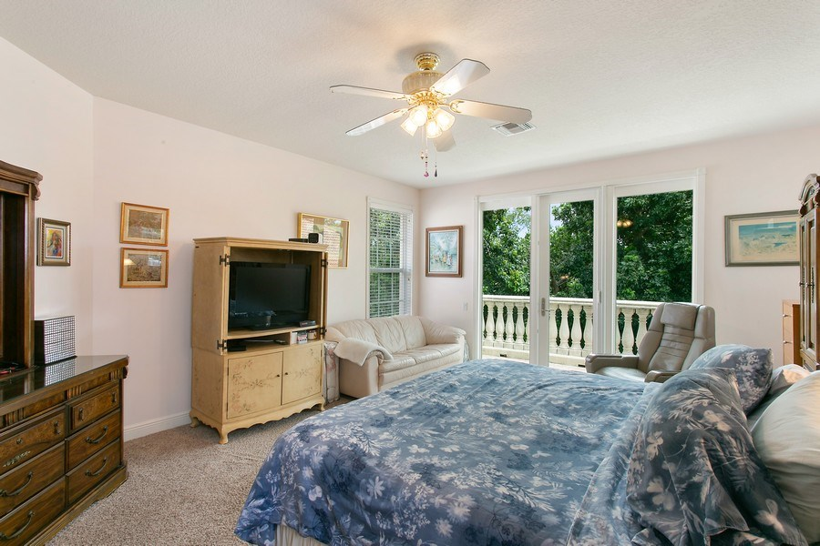 Real Estate Photography - 735 Charlestown Circle, Palm Beach Gardens, FL, 33410 - Master Bedroom