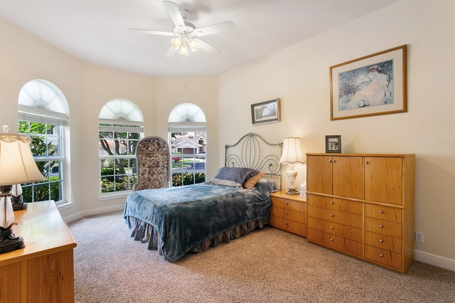 Real Estate Photography - 735 Charlestown Circle, Palm Beach Gardens, FL, 33410 - First Floor Bedroom 2
