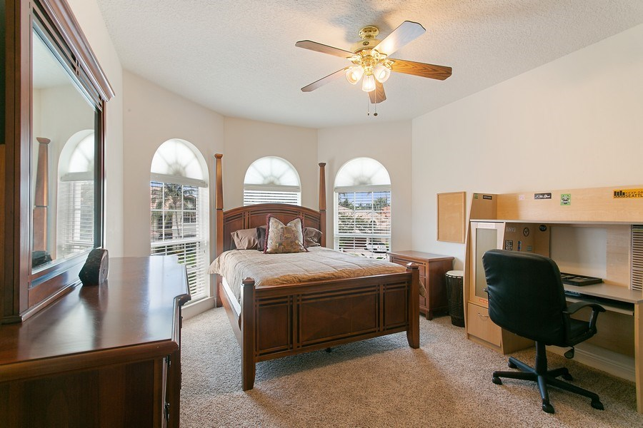 Real Estate Photography - 735 Charlestown Circle, Palm Beach Gardens, FL, 33410 - 4th Bedroom
