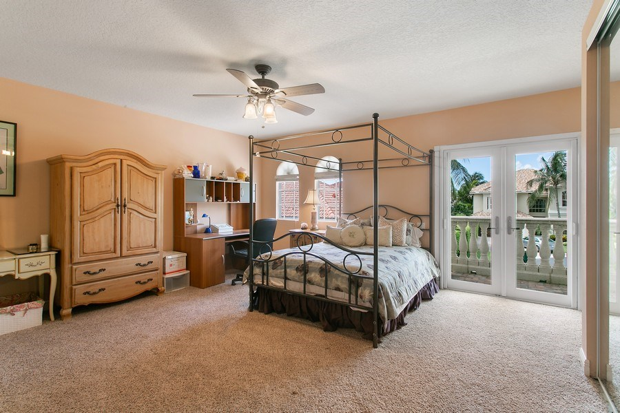 Real Estate Photography - 735 Charlestown Circle, Palm Beach Gardens, FL, 33410 - Second Floor Bedroom