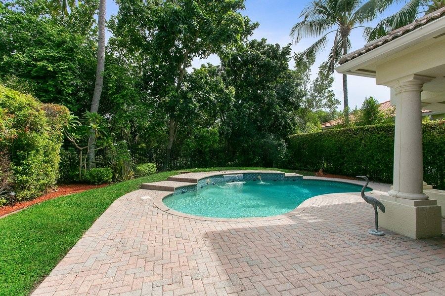 Real Estate Photography - 735 Charlestown Circle, Palm Beach Gardens, FL, 33410 - Pool