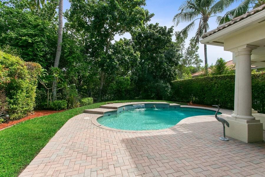 Real Estate Photography - 735 Charlestown Circle, Palm Beach Gardens, FL, 33410 - Pool
