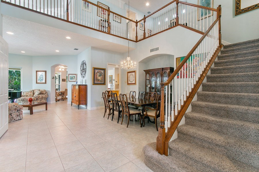 Real Estate Photography - 735 Charlestown Circle, Palm Beach Gardens, FL, 33410 - Foyer