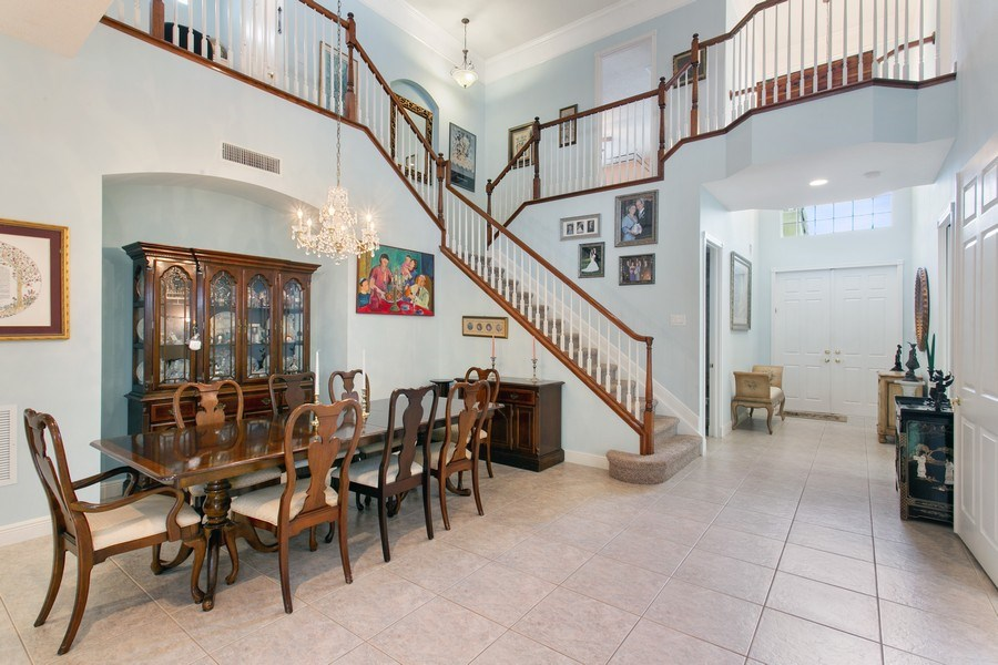 Real Estate Photography - 735 Charlestown Circle, Palm Beach Gardens, FL, 33410 - Dining Room