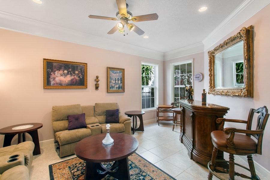 Real Estate Photography - 735 Charlestown Circle, Palm Beach Gardens, FL, 33410 - First floor/ Den
