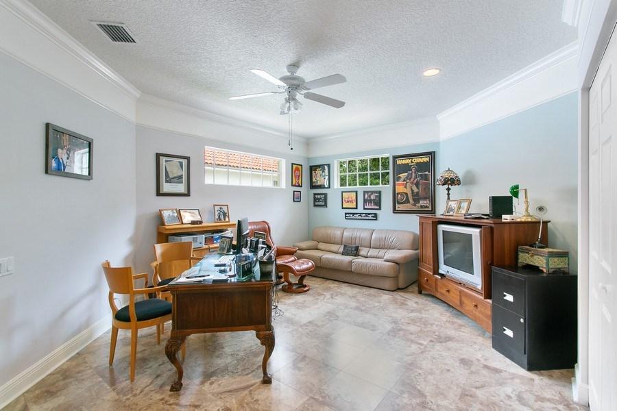 Real Estate Photography - 735 Charlestown Circle, Palm Beach Gardens, FL, 33410 - Second Floor Office/ Loft