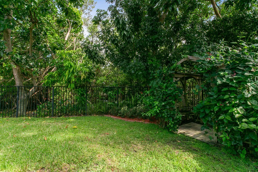 Real Estate Photography - 735 Charlestown Circle, Palm Beach Gardens, FL, 33410 - Rear View