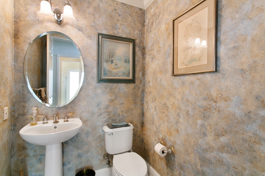 Real Estate Photography - 735 Charlestown Circle, Palm Beach Gardens, FL, 33410 - Powder Room