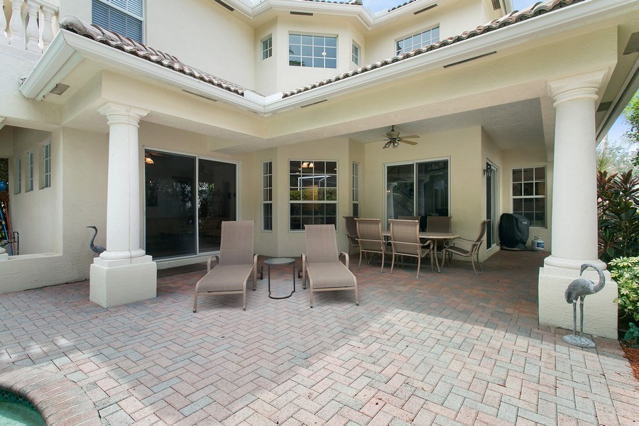 Real Estate Photography - 735 Charlestown Circle, Palm Beach Gardens, FL, 33410 - Patio