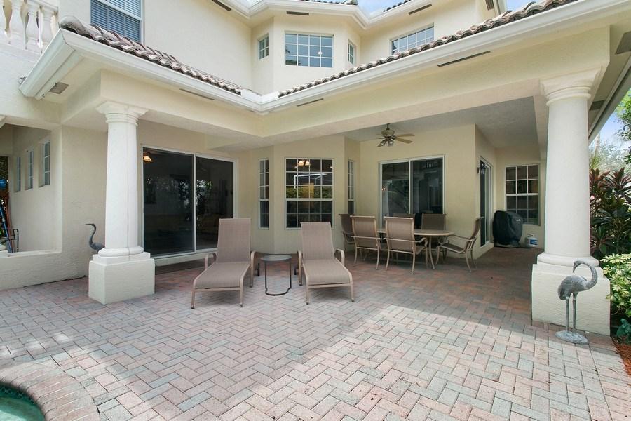 Real Estate Photography - 735 Charlestown Circle, Palm Beach Gardens, FL, 33410 - Patio