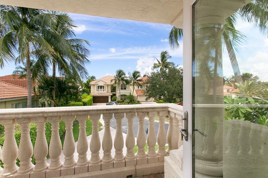 Real Estate Photography - 735 Charlestown Circle, Palm Beach Gardens, FL, 33410 - Balcony