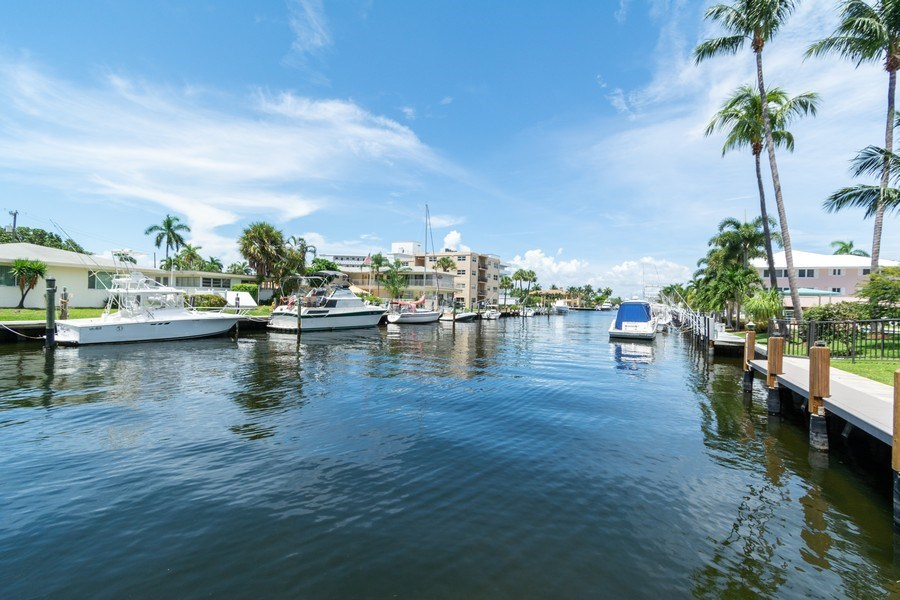 Real Estate Photography - 2825 NE 33rd Ave, Unit 103, Fort Lauderdale, FL, 33308 - Intracoastal View