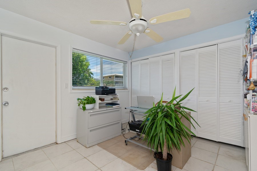 Real Estate Photography - 2825 NE 33rd Ave, Unit 103, Fort Lauderdale, FL, 33308 - Bedroom 2 - Office