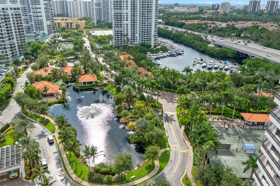 Real Estate Photography - 19195 Mystic Pointe Dr, Apt 2202, Aventura, FL, 33180 - View