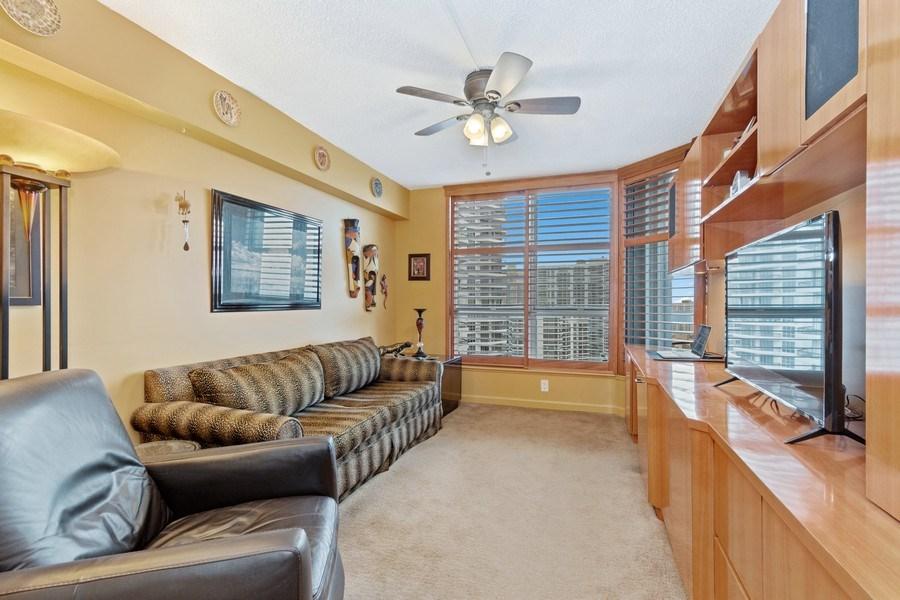 Real Estate Photography - 19195 Mystic Pointe Dr, Apt 2202, Aventura, FL, 33180 - Bedroom