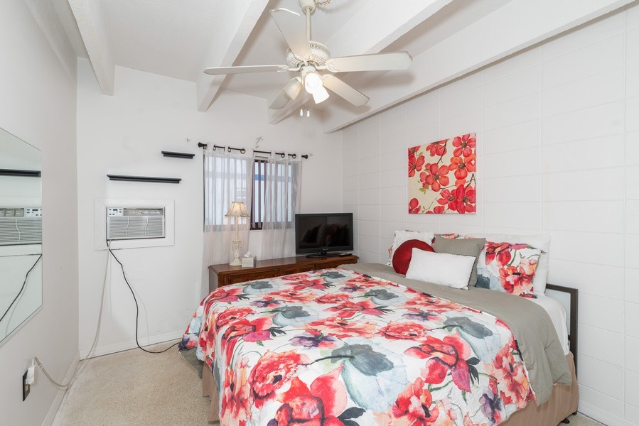 Real Estate Photography - 430 Wilson Avenue, Unit 2, Cocoa Beach, FL, 32931 - 2nd Bedroom