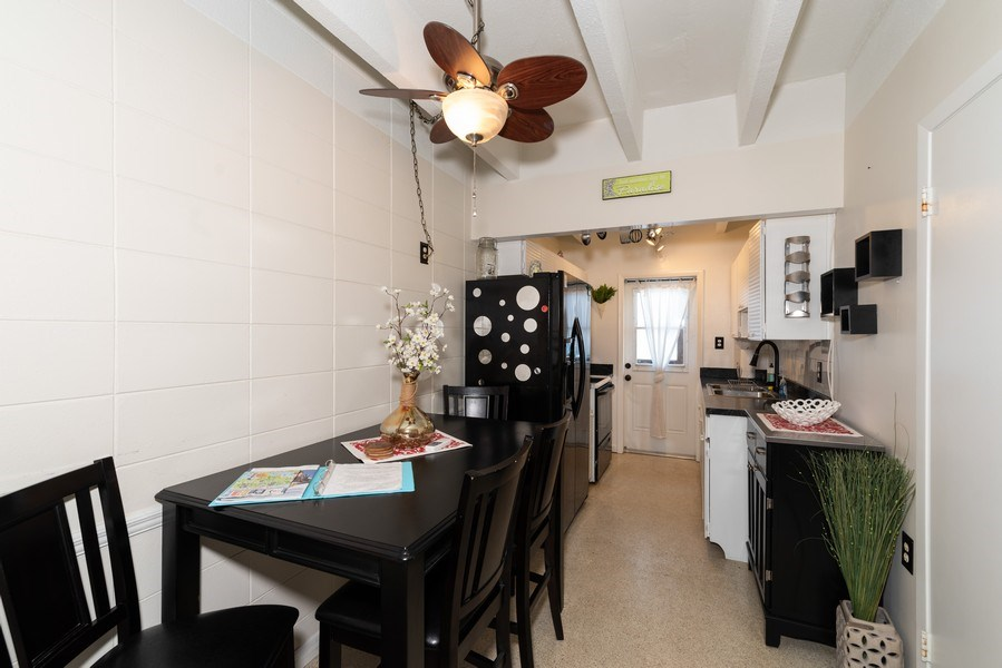 Real Estate Photography - 430 Wilson Avenue, Unit 2, Cocoa Beach, FL, 32931 - Dining Room