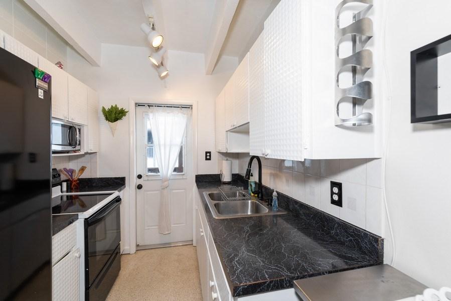 Real Estate Photography - 430 Wilson Avenue, Unit 2, Cocoa Beach, FL, 32931 - Kitchen