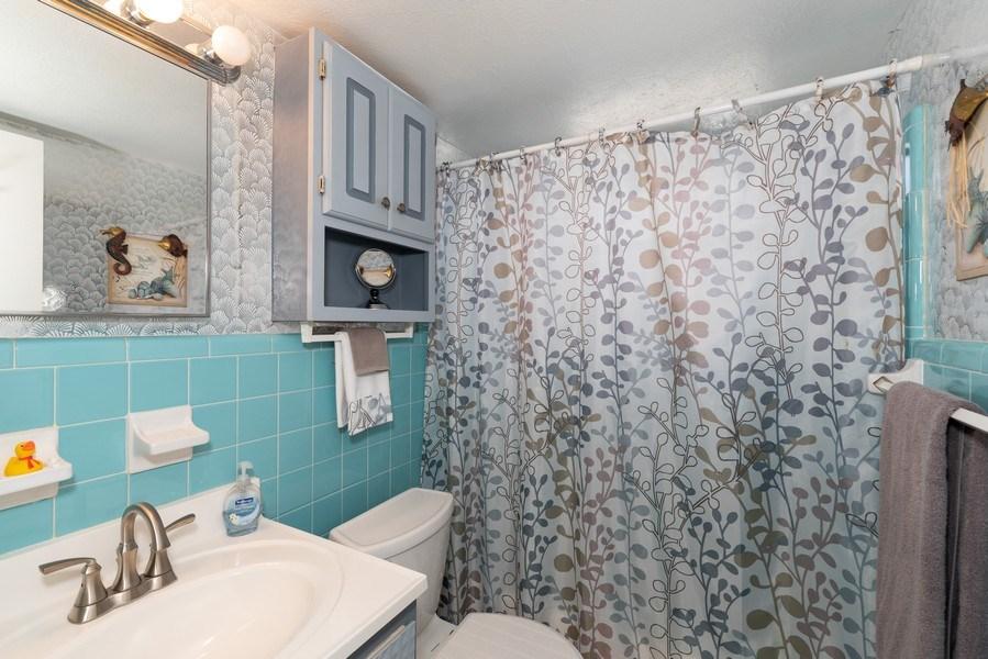 Real Estate Photography - 430 Wilson Avenue, Unit 2, Cocoa Beach, FL, 32931 - Bathroom