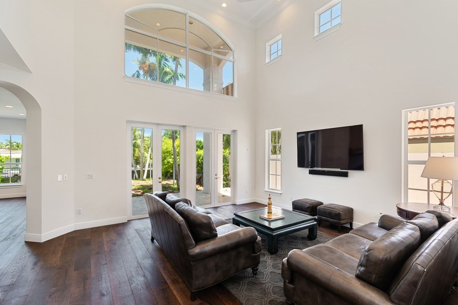 Real Estate Photography - 316 Bontona Ave., Fort Lauderdale, FL, 33301 - Living Room