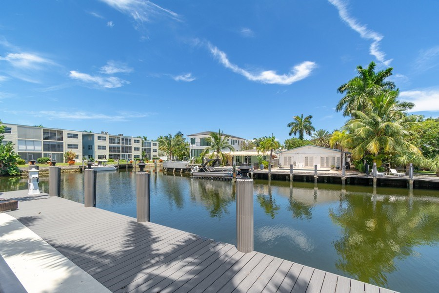 Real Estate Photography - 316 Bontona Ave., Fort Lauderdale, FL, 33301 - Dock