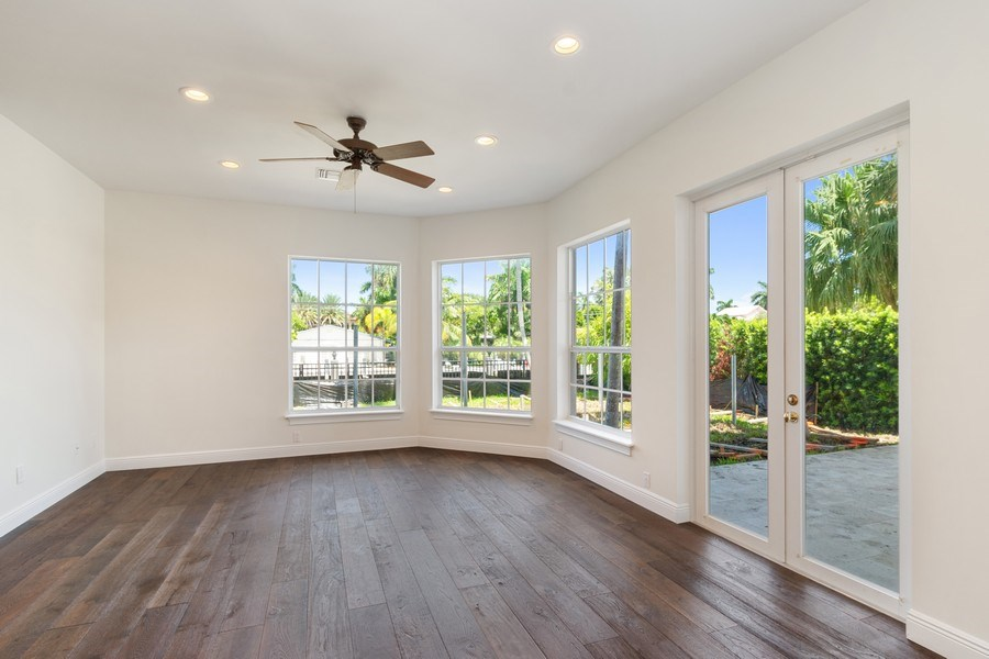 Real Estate Photography - 316 Bontona Ave., Fort Lauderdale, FL, 33301 - Family Room