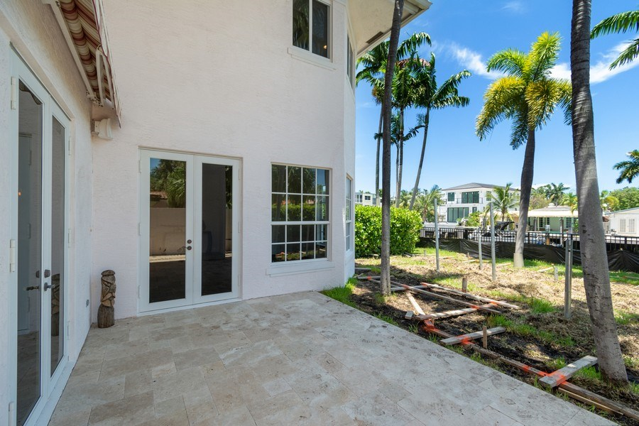Real Estate Photography - 316 Bontona Ave., Fort Lauderdale, FL, 33301 - Patio